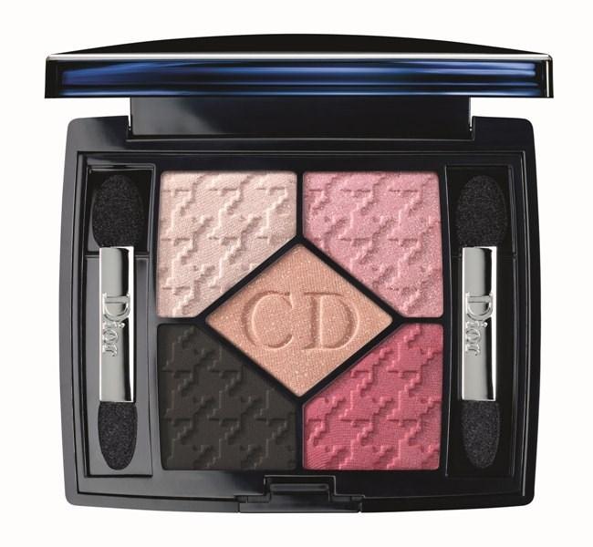 Пятицветные тени для век Dior 5 Couleurs Eyeshadow 854 Rose Charmeuse