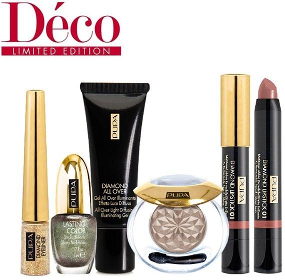 Рождественская коллекция макияжа Pupa Deco Holiday 2012 Makeup Collection