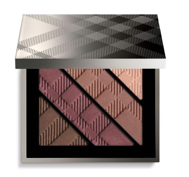 Четырехцветные тени для век Burberry Complete Eye Palette Plum Pink