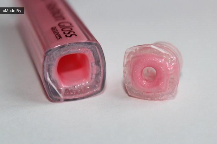 свотчи блеска для губ с зеркальным эффектом Relouis FASHION GLOSS №12 Овации в Каннах