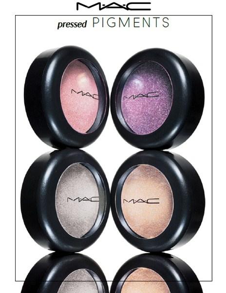 Весенняя коллекция спрессованных пигментов MAC Spring 2013 Pressed Pigments Collection