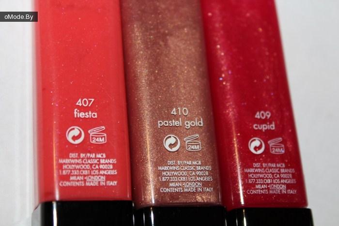 Ароматизированные блески для губ Calvin Klein Delicious Pout Flavored Lip Gloss
