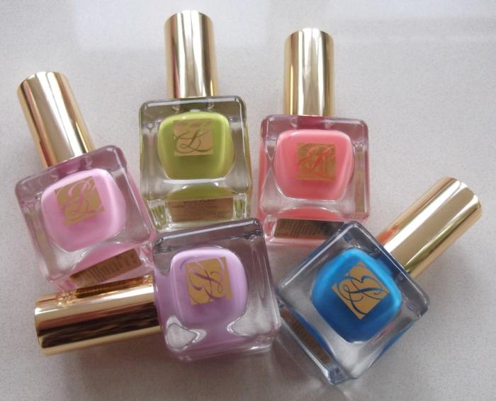 Весенняя коллекция лаков для ногтей Estee Lauder Paris Macarons Pure Color Nail Lacquer Spring 2013