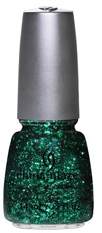 лак для ногтей China Glaze Glitz Bitz'n Pieces Spring 2013 Collection Graffiti Glitter