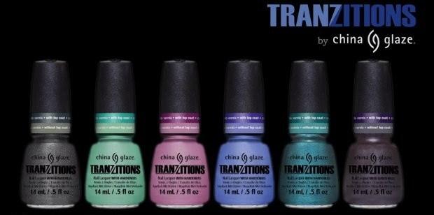 Зимняя коллекция лаков для ногтей China Glaze Tranzitions Spring 2013 Collection