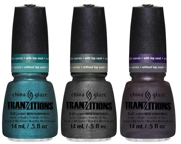 Зимняя коллекция лаков для ногтей China Glaze Tranzitions Spring 2013 Collection Altered Reality, Shape Shifter, Shape Shifter