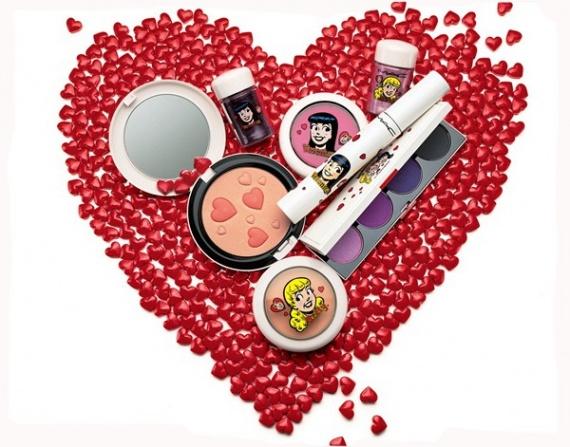 Весенняя коллекция макияжа MAC Archie's Girls Spring 2013 Makeup Collection