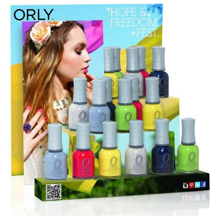 Весенняя коллекция лаков для ногтей Orly Hope & Freedom Fest Spring 2013 Collection