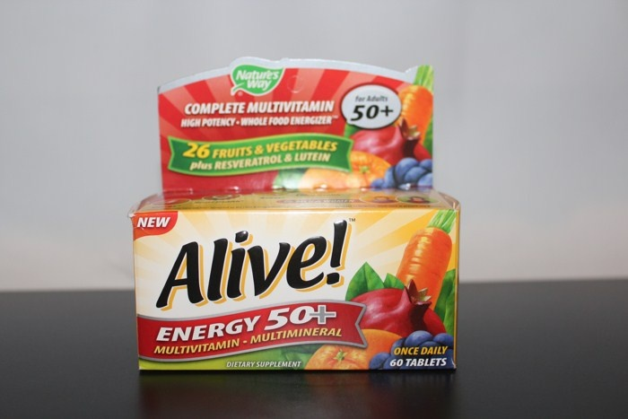 Мультивитамины для женщин старше 50-ти лет Nature's Way, Alive!, Energy 50+ Multivitamin & Multimineral, For Adults 50+ (60 таблеток)
