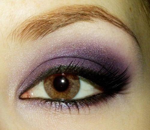 Универсальные цвета для макияжа карих глаз