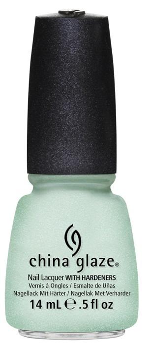 лак для ногтей China Glaze Avant Garden Keep Calm, Paint On: Sea foam green (очень светлый зеленый)