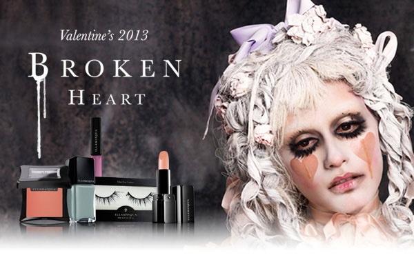 Коллекция макияжа ко дню святого Валентина Illamasqua Broken Heart Collection – Valentine's 2013