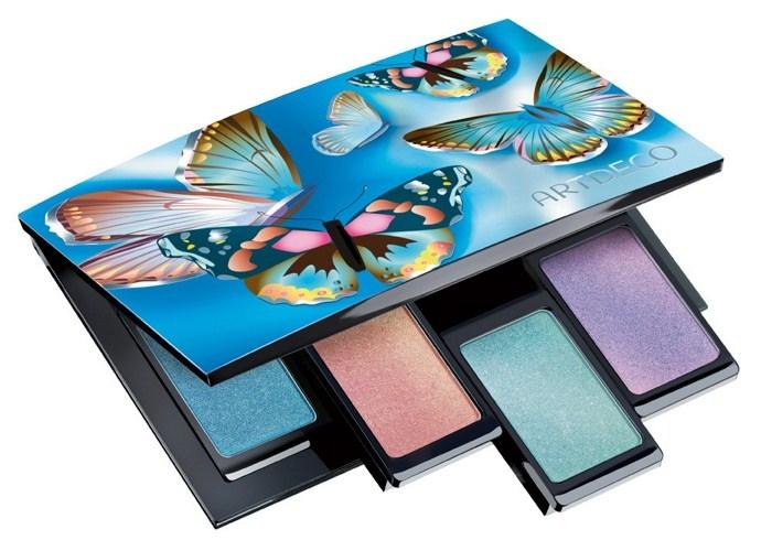 Магнитный бьюти-бокс Beauty Box Quattro и Одиночные тени для век Mono Eyeshadow