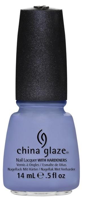 лак для ногтей China Glaze Avant Garden Fade Into Hue: Periwinkle crème (голубой с примесью фиолетового)
