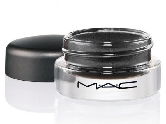 Кремовые тени для век MAC Pro Longwear Paint Pots Blackground - Black grey (серо-черный)