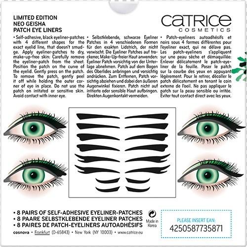 Наклейки-стрелки для глаз Patch Eye Liners