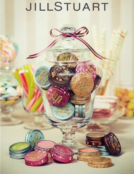 Весенняя коллекция ароматизированных бальзамов и скрабов для губ Jill Stuart Yummy Perfumed Lip Balm & Lip Scrub Spring 2013 Collection