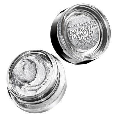 кремовые тени для век Color Tattoo Metal Eyeshadow Silver Strike