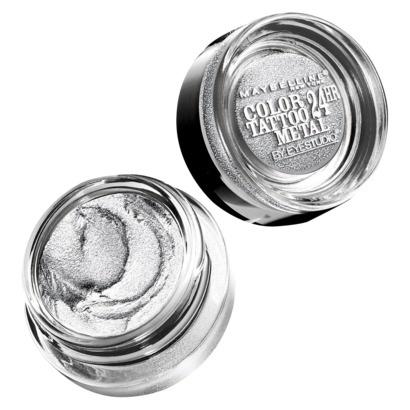 кремовые тени для век Color Tattoo Metal Eyeshadow Silver Strike
