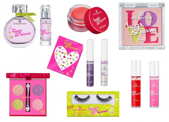 Весенняя коллекция макияжа  Essence Hugs & Kisses Spring 2013 Collection