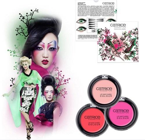 Весенняя коллекция макияжа Catrice Neo Geisha Spring 2013 Collection