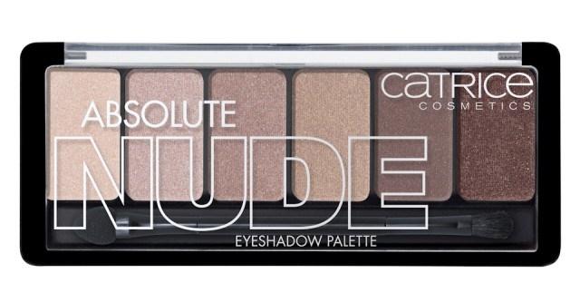 Палетка теней для век в натуральной гамме Absolute Nude Eyeshadow Palette