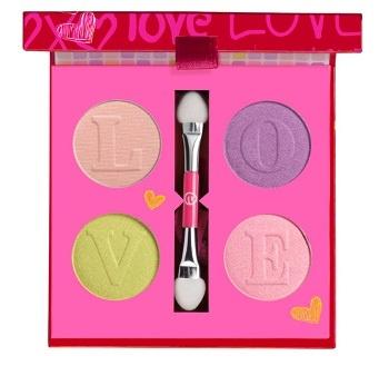 Палетка теней для век Hugs & Kisses Eyeshadow Palette №01 Love At First Sight