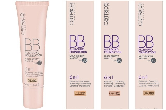 Тональная основа BB All Round Foundation SPF 30