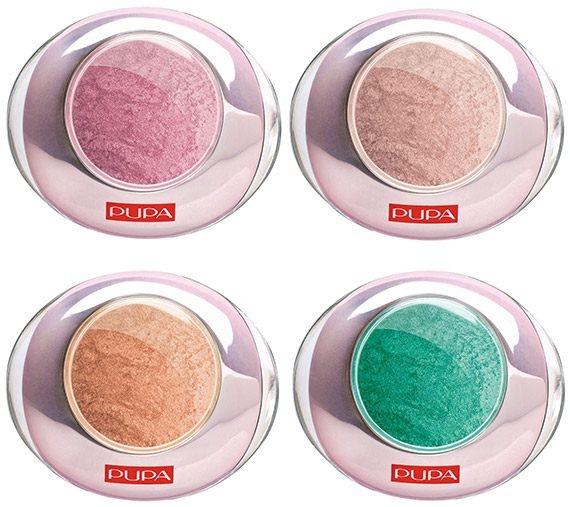 Одноцветные тени для век Luminys Silk Eyeshadows