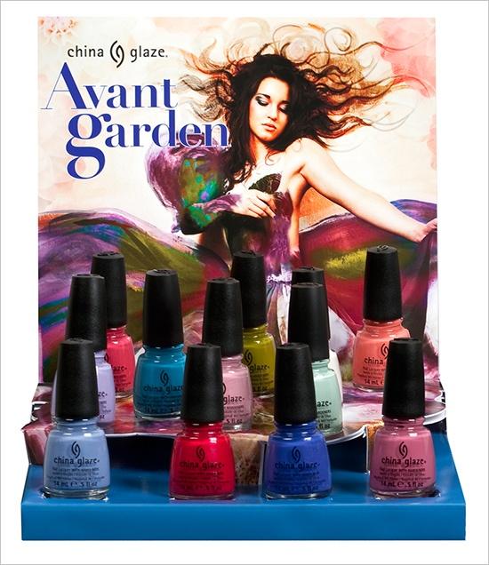 Весенняя коллекция лаков для ногтей China Glaze Avant Garden Spring 2013 Collection