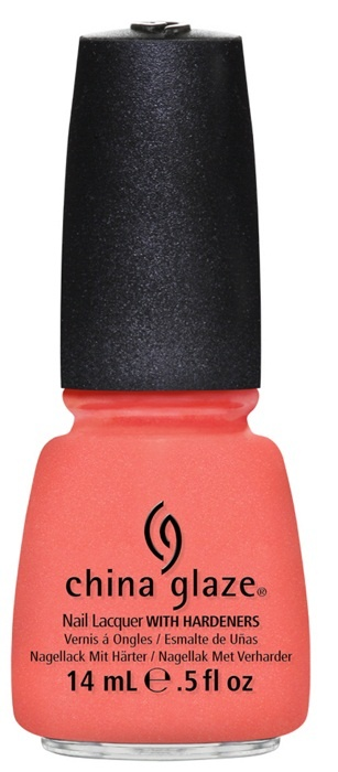 лак для ногтей China Glaze Avant Garden Mimosas Before Manis: Coral with a light wash of shimmer (коралловый с легким мерцанием)