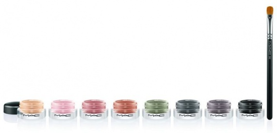 Весенняя коллекция кремовых теней для век MAC Pro Longwear Paint Pots Spring 2013 Collection
