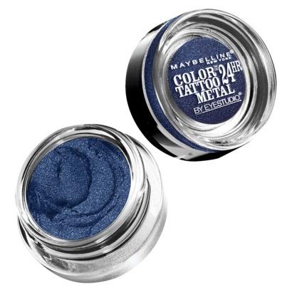 кремовые тени для век Color Tattoo Metal Eyeshadow Electric Blue
