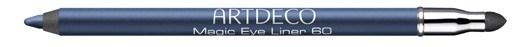 Карандаш для глаз с мягким спонжем для растушевки Magic Eye Liner №60 Blue Marguerite – metallic midnight blue (металлический полночный синий)