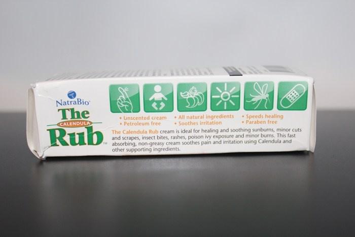 Заживляющий крем с календулой NatraBio, The Calendula Rub, Healing Cream (57 г.)
