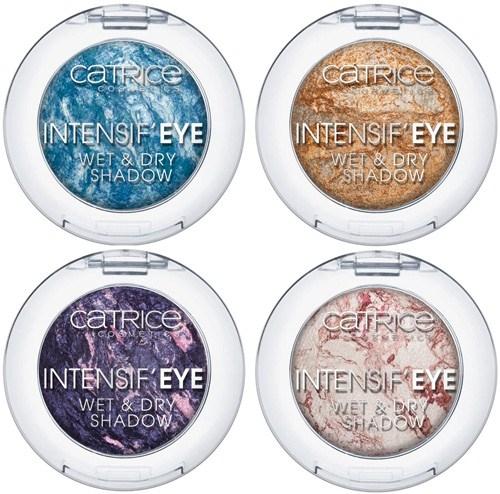 Запеченные тени для век  Intensif Eye Wet and Dry Eyeshadow