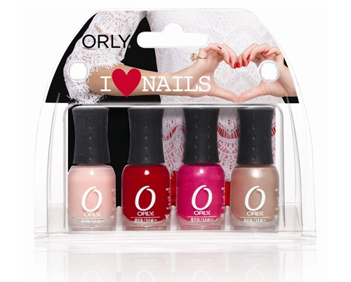 Весенняя коллекция лаков для ногтей ко Дню Святого Валентина Orly I Love Nails Valentine's Day Spring 2013 Nail Collection