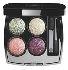 Четырехцветные тени для век Les 4 Ombres Eyeshadow Palette Camellias Frosting