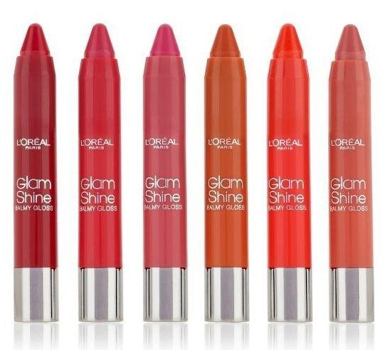 Коллекция бальзамов-блесков для губ L'Oréal Glam Shine Balmy Gloss Collection