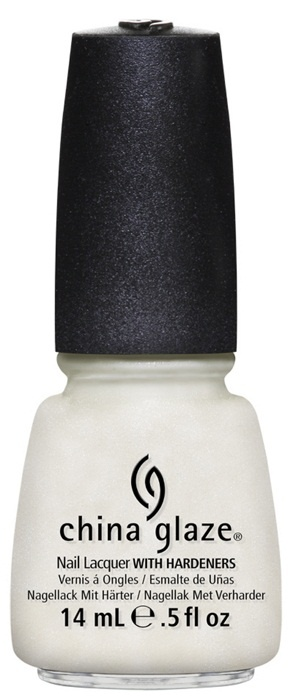 лак для ногтей China Glaze Avant Garden Dandy Lyin' Around: Shimmery vanilla icing (мерцающий белый)