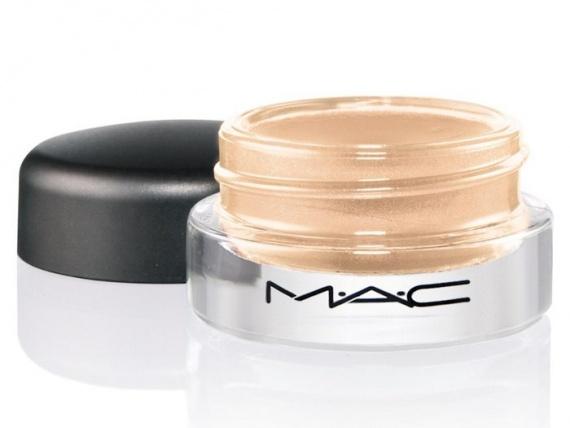 Кремовые тени для век MAC Pro Longwear Paint Pots Chilled On - Ice Frosted white gold (белое золото)