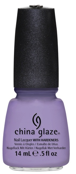лак для ногтей China Glaze Avant Garden Tart-y for the Party: Light lavender crème (светло-сиреневый)