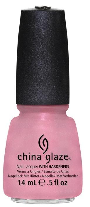 лак для ногтей China Glaze Avant Garden Pink-ie Promise: Iridescent baby pink (радужный светло-розовый)