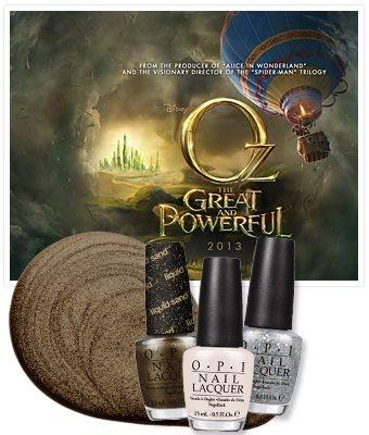 Весенняя коллекция лаков для ногтей OPI Oz The Great and Powerful Spring 2013 Collection