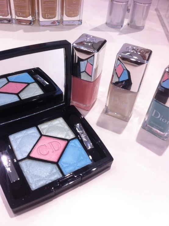 Весенняя коллекция макияжа Dior Snow Spring 2013 Collection
