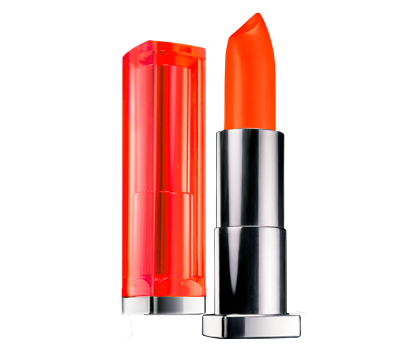 губная помада Maybelline Color Sensational Vivids Lipstick №880 Electric Orange