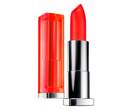 губная помада Maybelline Color Sensational Vivids Lipstick №885 Vibrant Mandarin