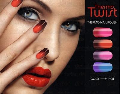 Коллекция лаков для ногтей Alessandro International Thermo Twist Collection