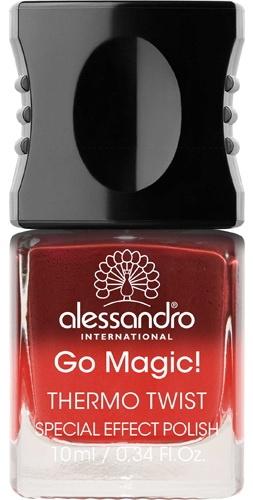 лак для ногтей Alessandro International Thermo Twist Collection Let It Burn