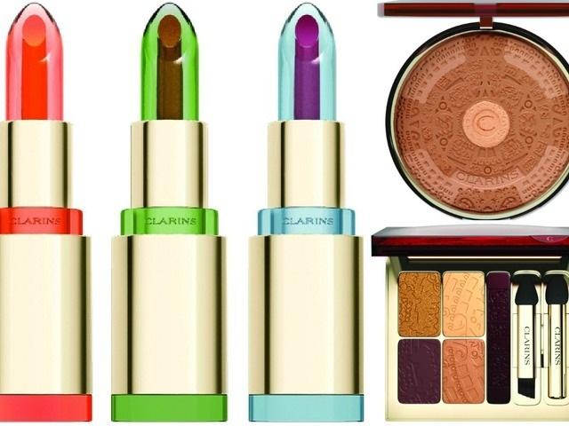 Весенняя коллекция макияжа Clarins Splendours Summer 2013 Makeup Collection